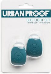 URBAN PROOF UrbanProof fietslampjes set siliconen Emerald groen