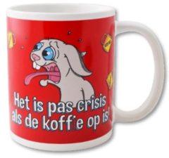 Paperdreams Funny Mugs 26- crisis als de koffie