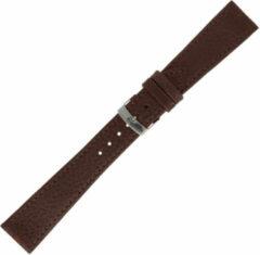 Morellato Morelatto Horlogebandje Dublin Bruin 18mm