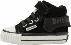 ROCO Baby jongetjes sneakers hoog - Zwart - maat 20