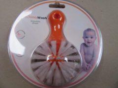 Oranje Flessenborsel , momma wash, ( avent) voor dikke flessen