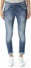 Blauwe Please P78 baggy jeans P78 baggy jeans Boyfriend fit Broek Maat XL