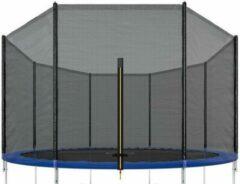 Zwarte Merkloos / Sans marque Trampoline net - 396 cm - buitenrand - AP Sport