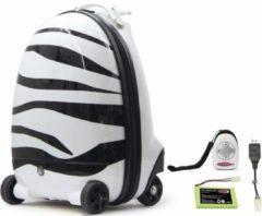 JAMARA Ferngesteuerter Koffer für Kinder, »Kinderkoffer Zebra, 2,4GHz«