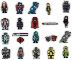 Kidrobot Transformers vs G.I. Joe: Enamel Pin Blind Box (Price per Piece)