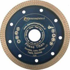 Blauwe Diamantzaagbladen Diamantschijf 115mm Tegels dunne zaagsnede