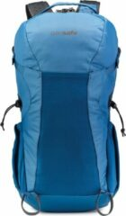 Blauwe Pacsafe Venturesafe X34 backpack - Anti diefstal Backpack - 34 L - Blue (Blue Steel)
