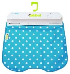 Blauwe Lief! Qibbel windschermflap Polka Dot bl