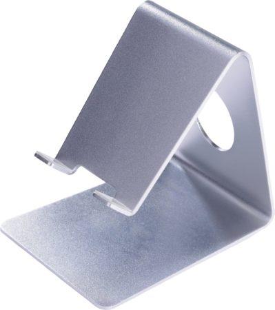 Afbeelding van Zilveren Ultron, Mobile Stand for Smartphones (Aluminium Zilver)