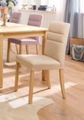 Taupe Home affaire Stuhl »Lona«, wahlweise mit Kunstleder oder Strukturstoff bezogen, im 2er-, 4er-, oder 6er-Set