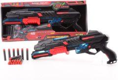 Massamarkt Serve & Protect pistool groot 50 cm met licht en 10 pijlen