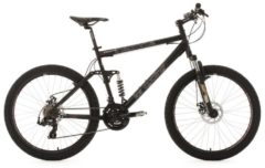 Mountainbike, KS Cycling, »Insomnia«, Fully Viergelenker, 26 Zoll, 21 Gang Shimano Tourney