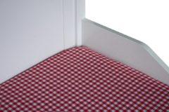 BINK Bedding Hoeslaken 90 x 200 BB Rood 1 cm
