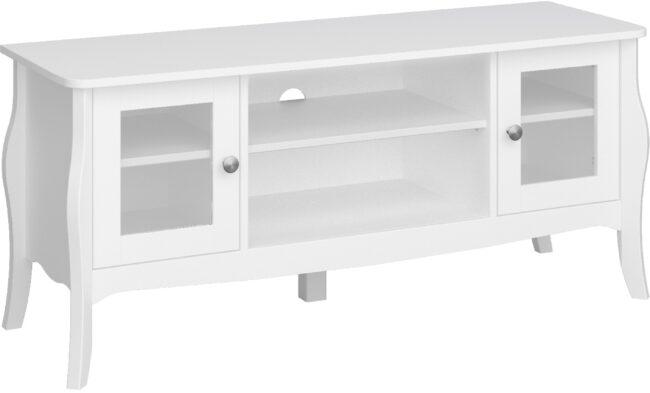 Afbeelding van DS Style Tv-meubel Baroque 120 cm breed in wit