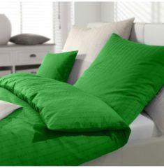 Mako-Seersucker Bettwäsche Chelsea grün Elegante grün
