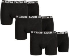 Zaccini 6 boxershorts zwart-L