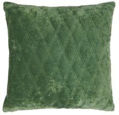 Groene Lifestyle Dascha Kussen Katoen 50 x 50 cm - Lichtgroen