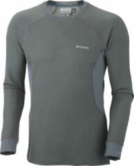 Columbia Baselayer Heavyweight - heren - thermoshirt - grijs