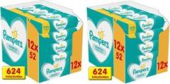 Pampers Billendoekjes Fresh Clean 24x52 Stuks