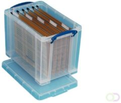 Really Useful Boxes hangmappenkoffer 19 l, voor 10 hangmappen, buitenft 395 x 255 x 290 mm, binnenft 3...