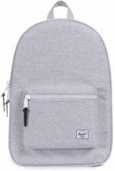 Grijze Herschel Settlement Rugzak 15 inch Light Grey Crosshatch
