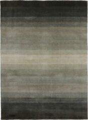 Antraciet-grijze MOMO Rugs - Panorama Natural Grey Vloerkleed - 140x200 cm - Rechthoekig - Laagpolig Tapijt - Design, Modern - Antraciet, Grijs