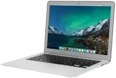 Zilveren Apple Refurbished MacBook Air 13 inch | Dual Core i5 1.6 | 8GB | 128GB SSD | Licht gebruikt | 2 jaar garantie | Refurbished Certificaat | leapp