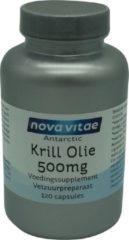 Nova Vitae Antarctic krill olie 500 mg 120 Capsules