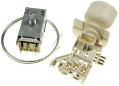 Whirlpool Thermostat und Lampenhalterung für Kühlschrank 484000008569, C00382945