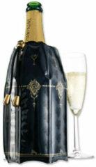 Zwarte VacuVin Vacu Vin Active Cooler Champagne - Champagnekurk - opvouwbaar