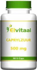 Caprylzuur 500 mg van Elvitaal : 90 capsules