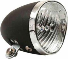 Zwarte Simson Batterij koplamp Classic black