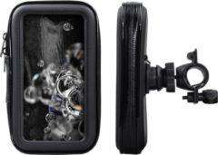 Shop4- Samsung Galaxy S20 Ultra Fietshouder Stuur Spatwaterdicht Zwart
