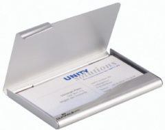 DURABLE 2415 Visitekaartbox Zilver 57 x 90 mm Aluminum 9 x 1 cm