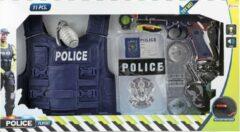 Toitoys Toi-toys Speelset Politie Jongens Polykatoen 11-delig