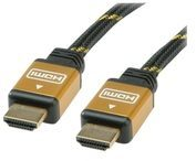 ROLINE Gold - HDMI-Kabel - HDMI (M) bis HDMI (M) 11.88.5563