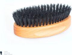Bruine BRDS Grooming Baardborstel Military Brush