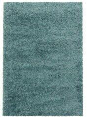 SYDNEY SHAGGY Himalaya Monaco Soft Shaggy Hoogpolig Vloerkleed Blauw / Turquoise- 240x340 CM