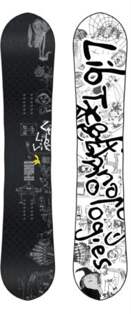Afbeelding van Lib Tech Skate Banana BTX 156 Snowboard patroon