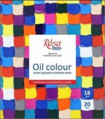 Rosa Gallery Olieverf Set 18x20ml