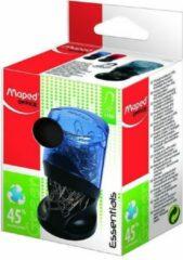 Maped Office Essentials groen papercliphouder - grijs/zwart - met 100 paperclips