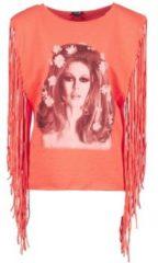 Oranje Top Brigitte Bardot BB44075