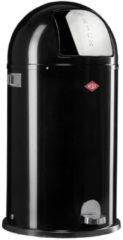 Zwarte Wesco Kickboy 40 liter pedaalemmer