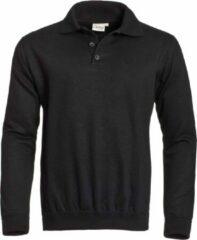 Santino Polosweatshirt Robin Zwart Maat 2xl