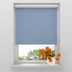 Lichtblauwe Raamdecoratie.com Rolgordijn Easy Verduisterend Light Blue 100 x 190