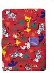 Bambino Mio verschoonmatje - Giraffe Rood