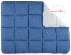 Bemini boxkleed Jeans blauw Quilted Stary Shade 75x95cm Afmetingen: 75x95cm