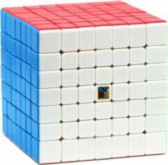 7x7 Speedcube - Puzzel Cube- Stickerless Kubus - Moyu Meilong