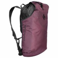 Donkerrode Black Diamond - Trail Blitz 12 Backpack - Klimrugzak maat 12 l, mulberry