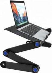 Deluxa Laptop Tafel - Verstelbaar - laptopstandaard zwart